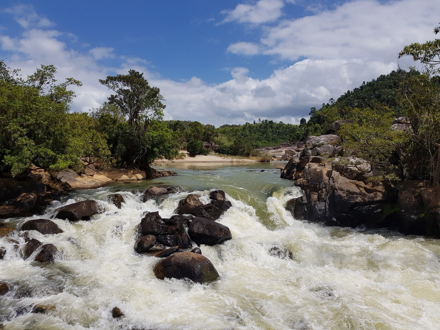 Madagascar has many rivers with a high hydrokinetic - ©Guinard Energies Nouvelles – september 2018